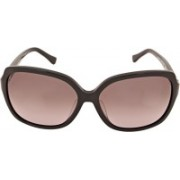 Calvin Klein Over-sized Sunglasses(Brown)
