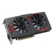 VGA Asus Expedition Radeon RX 570 4GB, AMD RX570, 4GB, do 1254MHz, DP, DVI-D, HDMI, 36mj (EX-RX570-4G)