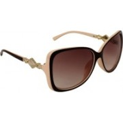 Zyaden Over-sized Sunglasses(Brown)