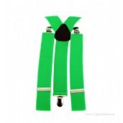 "Bretele Barbat ""Green"" by JukaFashion.ro cod Z000110"