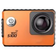 Camera Video Sport Dare S100, Filmare 4K, Wi-Fi, GPS, Subacvatica (Portocalie)