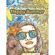 Color By Numbers Coloring Book for Adults of Happy Summer: A Summer Color By Number Coloring Book for Adults With Ocean Scenes, Island Dreams Vacation, Paperback/Zenmaster Coloring Books