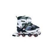 Roller Semi-Pro Cinza Tamanho M 35-38