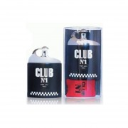 CLUB No.1 BLACK By New Brand Caballero Eau De Toilette EDT 100ml