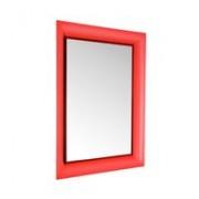 Kartell Francois Ghost spiegel rood groot