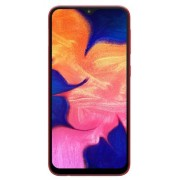 "Telefon Mobil Samsung Galaxy A10, Procesor Octa-Core 1.6GHz/1.35GHz, IPS LCD Capacitive touchscreen 6.2"", 2GB RAM, 32GB Flash, Camera 13MP, Wi-Fi, 4G, Dual Sim, Android (Rosu) + Cartela SIM Orange PrePay, 6 euro credit, 6 GB internet 4G, 2,000 minute nati"