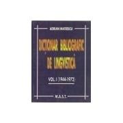 Dictionar bibliografic de lingvistica