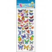 47 stk Klistermärken av Fjärilar