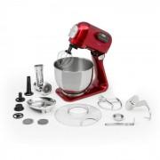 Curve Plus Set Robot de Cozinha | 5l | Picadora de Carne 4 em1 | Vermelho