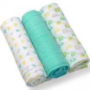 Комплект меки пелени - зелени, 382 02 Babyono, 0350002