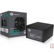 CoolerMaster MasterWatt Lite, ATX 600W, Active PFC, 12cm fan, 80 Plus (MPX-6001-ACABW-EU)