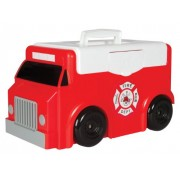 Toytainer Fire Trunk Play N Store