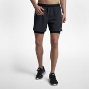 Nike Flex Stride 2-in-1 Herren-Laufshorts (ca. 12,5 cm) - Schwarz