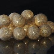 Catena luminosa con sfere - Decorazione collezione SIRIUS