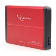 """Gembird USB 3.0 Externo kućište za 2.5"""" SATA hard diskove crveni (EE2-U3S-2-R)"""