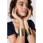 NA-KD Accessories Double Arm Cuff - Smycken - Gold