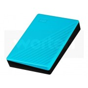 Western Digital Disco HDD Externo WESTERN DIGITAL My Passport Worldwide (Azul - 4 TB - USB 3.0)