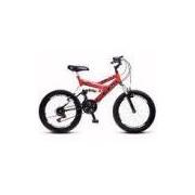 Bicicleta Colli Aro 20 Dupla Suspensão 36 Raias Freios V-Brake - 310