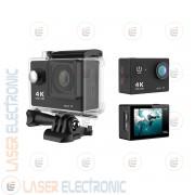 Telecamera OnBoard stile GoPro Ultra HD 4K Audio HQ Caccia Sport Subacquea 30MT