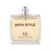 Sergio Tacchini With Style eau de toilette 100 ml ТЕСТЕР за мъже