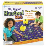Learning Resources Lrnler1100 Hip Hopping Hundred Mat Floor Game