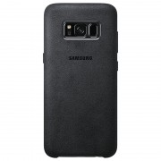 Samsung Galaxy S8 Alcantara Cover EF-XG950AS - Dark Grey
