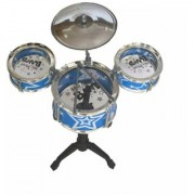 OH BABY The New And Latest Jazz Drum Set For Kids With 3 Drums And 2 Sticks SE-ET-173