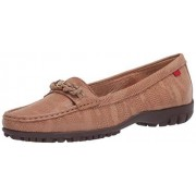 MARC JOSEPH NEW YORK Women's Leather Made in Brazil Orchard Street Golf Shoe, Sand Glaze, 10 M US