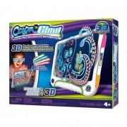 Color'N Glow Világító rajztábla 3D szemüveggel