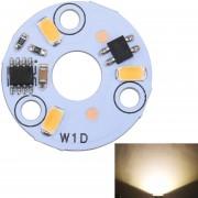 3w 3 LEDs SMD Ericsson 3000K Dimmable LED Bombilla Lampara Techo Modulo Panel Fuente De Iluminacion Modificada Instalación Conveniente, AC 220 - 240V (blanco Calido)