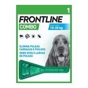 Combo spot on para cães dos 10 aos 20kg 1pipeta - Frontline