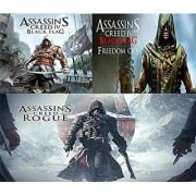 Assassin's Creed 4 Black Flag Black Flag Freedom Cry Rogue Combo Pack Pc Game
