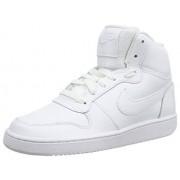 Nike Ebernon Mid-AQ1778-100 Zapatillas Altas para Mujer, Color White/White, 8.5
