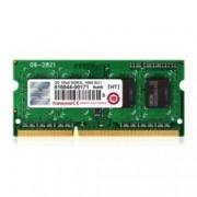 4GB DDR3 1600MHz, SODIMM, Transcend, 1.5V