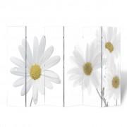 vidaXL Paraván s potiskem 240 x 180 květinový motiv