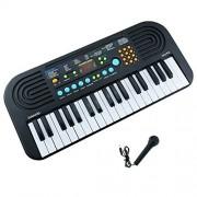 Kids Keyboard 37 Large Keys Multifunction Portable Electronic Piano Keyboard Organ Musical for Children Boys Girls Early Learning Educational Toy