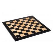 Tablă de șah din mahon închis, fără adnotare
