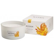 Bolsius Accents scented glass multiwick A Touch of Sun 75/137