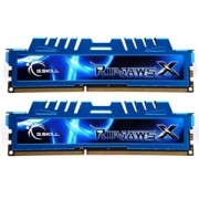 Memorie G.Skill RipJawsX 8GB (2x4GB) DDR3 PC3-17000 CL9 1.65V 2133MHz Intel Z97 Ready Dual Channel Kit, F3-17000CL9D-8GBXM