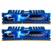 Memorie G.Skill RipJawsX 8GB (2x4GB) DDR3 PC3-17000 CL9 1.65V 2133MHz Intel Z97 Ready Dual Channel Kit, F3-17000CL9D-8GBXM