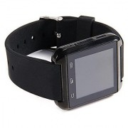 U8 Bluetooth Smart watch with real Altimeter Barometer Pedometer temperature touch Screen