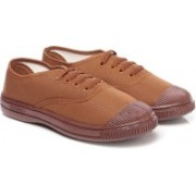 Unistar Military/PT Shoes For Men; 101-Brown Running Shoes For Men(Brown)