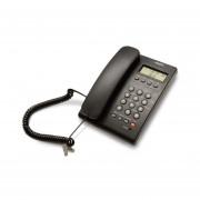 Teléfono Alámbrico Misik MT883 Para Casa Con Identificador De Llamadas-Negro