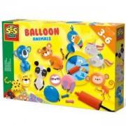 Детски комплект направи си сам Животни от балони SES, 0814649