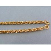 Zlatá retiazka žlté zlato točený vzor DR46453Z