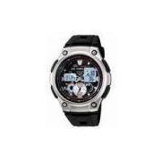 Relógio Masculino Anadigi Casio Aq-190W-1AVDF - Preto