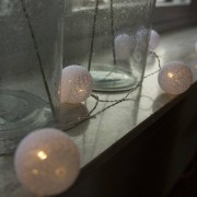 Kaemingk Ghirlanda di luce BAL 24 LED bianco caldo 3,8 metri