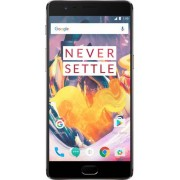 "Telefon Mobil OnePlus 3T A3003, Procesor Quad-Core 2.35GHz / 1.6GHz, Optic Amoled Capacitive touchscreen 5.5"", 6GB RAM, 128GB Flash, 16MP, Wi-Fi, 4G, Dual Sim, Android (Gri) + Cartela SIM Orange PrePay, 6 euro credit, 4 GB internet 4G, 2,000 minute nation"