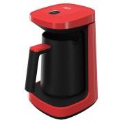 Aparat de cafea turceasca Beko TKM2940K, 600 W, 260 ml, Cook Sense, Functie Antispill, Rosu/negru