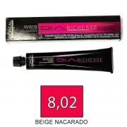 Loreal DIARICHESSE 8,02 Beige Nacarado - tinte 50ml